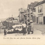 Kent, Herne Bay, The Old Ship Inn and Marine Parade
